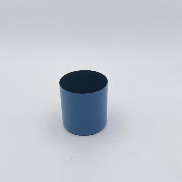 Topf blau klein